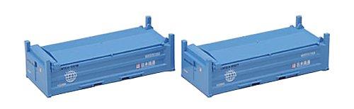TOMIX Nゲージ 3134 UM12A-5000形コンテナ (日本通運・2個入)