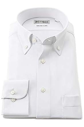 [ハルヤマ] i-shirt 完全ノーアイロン ストレッチ 速乾 長袖 アイシャツ ワイシャツ メンズ オフホワイト ゆったりサイズ 長袖ボタンダウン M151190023 3L86(首回り45cm×裄丈86cm)-(日本サイズ3L相当)