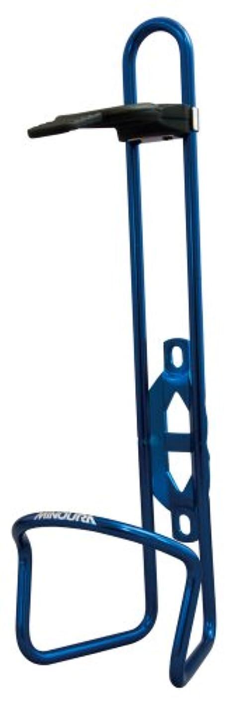 排出引退する店員MINOURA(ミノウラ) ペットボトル用ケージ [AB500] 500ml用 ラバーホールド付 ブルー