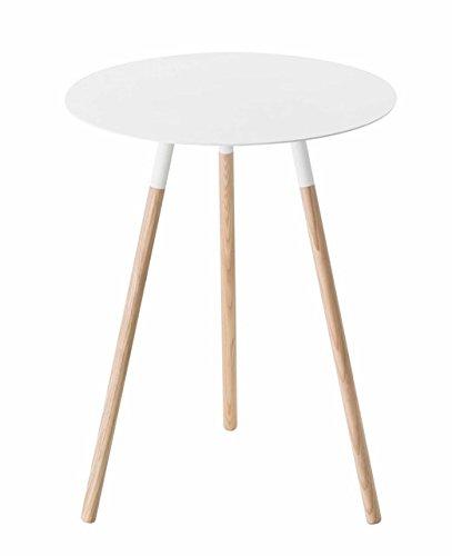 RoomClip商品情報 - サイドテーブル プレーンラウンド ホワイト