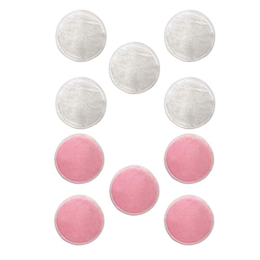 測る横向き真似るdailymall Natural Rounds 10 Packs-顔用の再利用可能な竹繊維メイク落としパッド-再利用可能なフェイシャルコットンラウンド