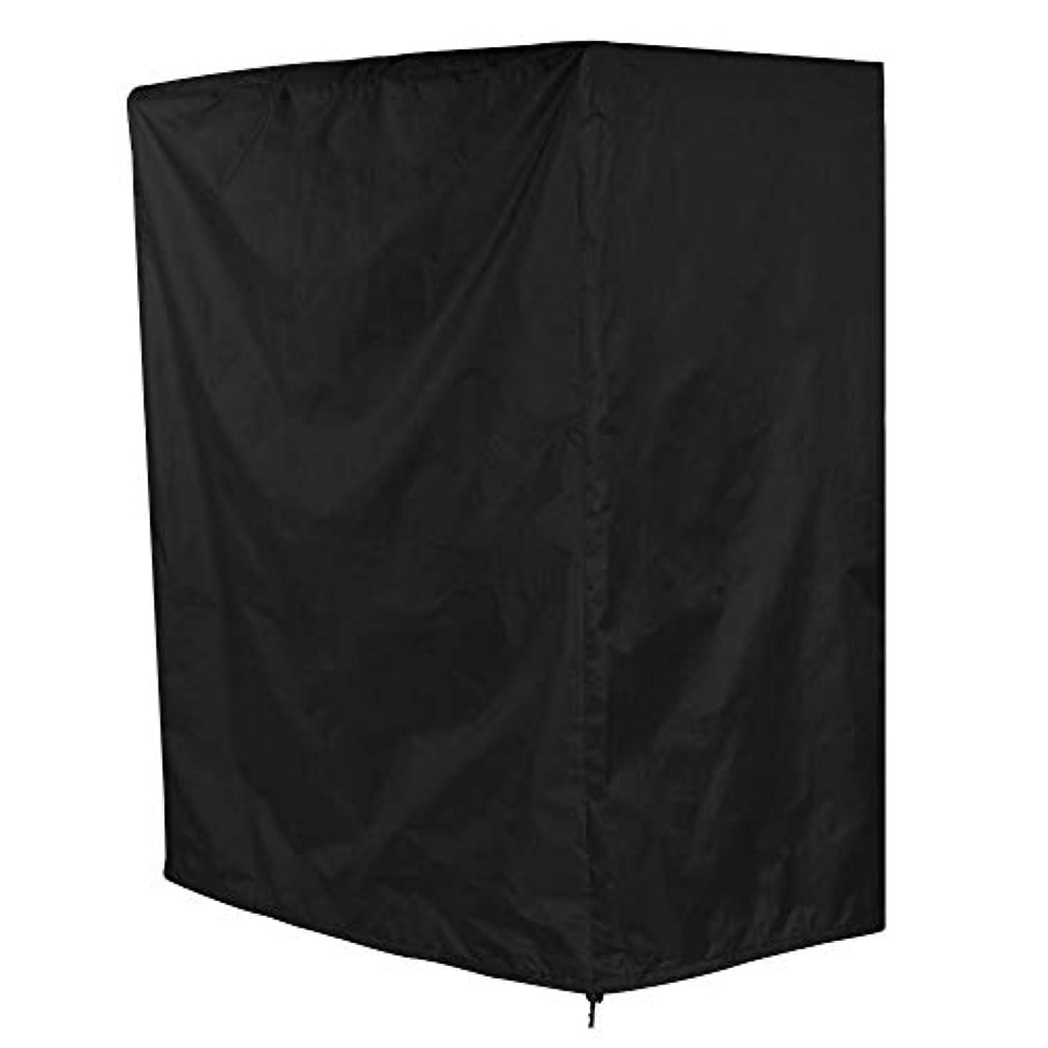 限りカウンターパート特許バーベキューカバー 焚火台カバー BBQカバー BBQコンロカバー 防水カバー 防水 防塵 防風 耐熱 多機能 通気性 グリルカバー アウトドア キャンプ 97×56×112 cm 2色(ブラック)