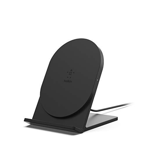 【Amazon.co.jp 限定】Belkin BOOST CHARGE ワイヤレス充電スタンド(Qi認証/5W・ブラック、micro-USBケーブル付属) [国内正規品] F7U070BTBLK-A