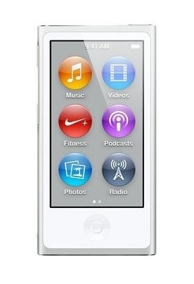 Apple iPod nano 16GB シルバー 第7世代 本体 + 汎用...