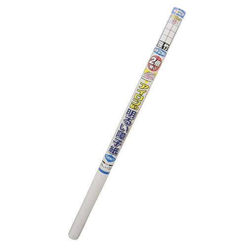 障子紙 2倍強い明るいアイロン貼り障子紙 UVカット約95% 6413 笹竹 94cm×3.6m 一枚貼り