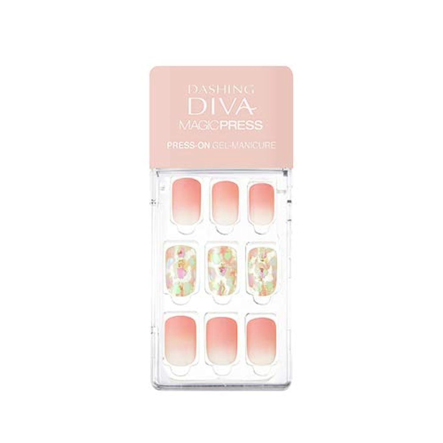 パスポート軍団チャーミングミシャ ダッシングディバ マジックプレス スリム フィット MISSHA Dashing Diva Magic Press Slim Fit # MDR_282 ROSY GLOW [並行輸入品]