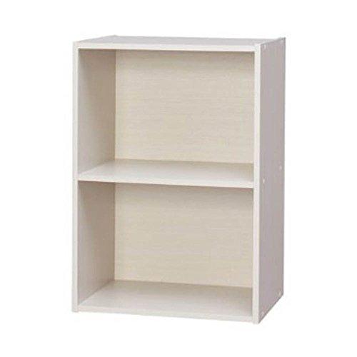 RoomClip商品情報 - アイリスオーヤマ カラーボックス 2段 幅41.5×奥行29×高さ59.5cm オフホワイト CX-2