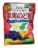 ★まとめ買い★ カンロ ノンシュガー果実のど飴 90g ×6個