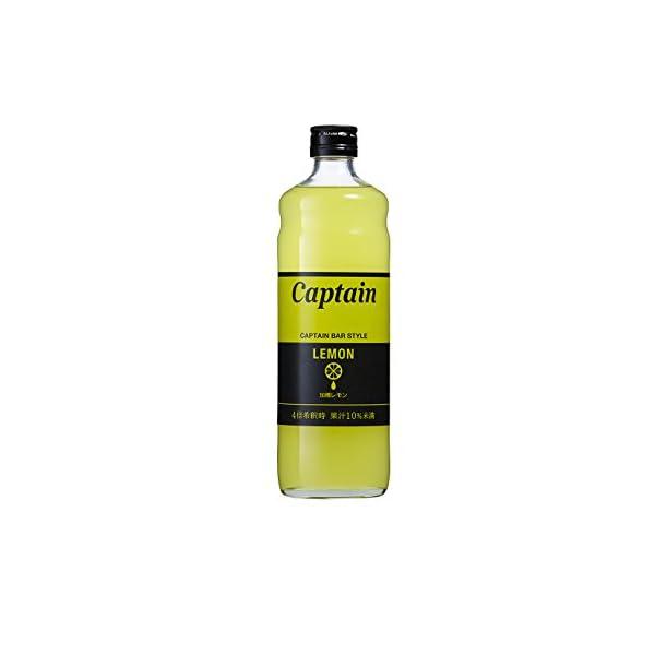 キャプテン レモン(加糖)600mlの商品画像