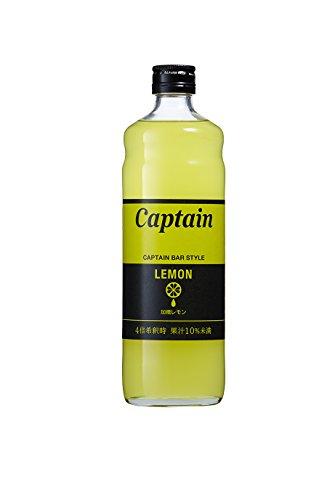 キャプテン レモン(加糖)600ml