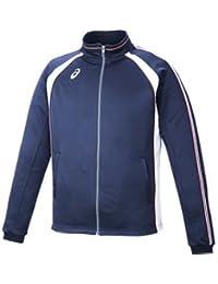 asics アシックス トレーニングジャケット XAT148-50 男女兼用 お取り寄せ商品 サイズ:S