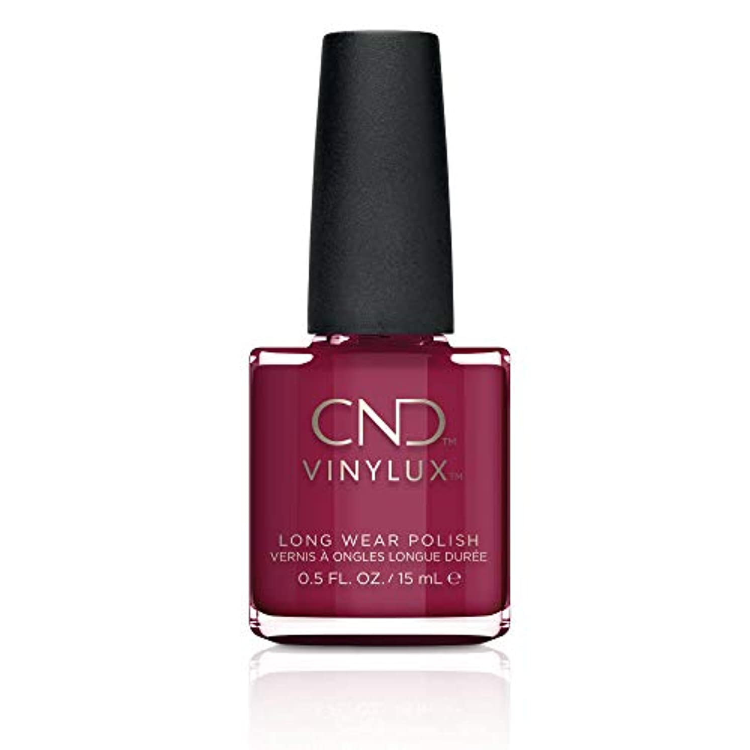 金貸し貫通敬CND Vinylux Nail Polish - Rouge Rite - 0.5oz / 15ml
