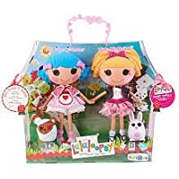 Lalaloopsy Large人形2 – パック – Misty Mysterious and Rosy Bumps ' N Bruises