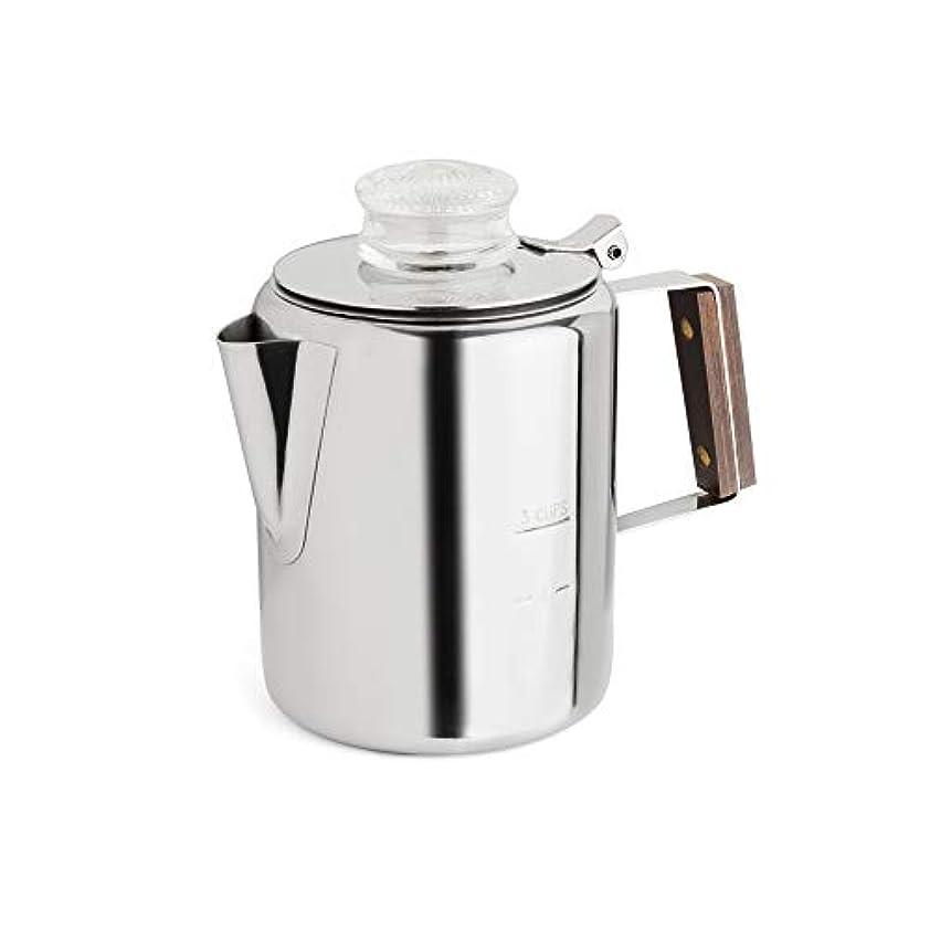 算術毒性志すTops 55702 Rapid Brew Stovetop Coffee Percolator, Stainless Steel, 2-3 Cup [並行輸入品]