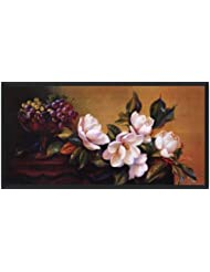Magnolia With Grapes By Fran Di Giacomo – 36 x 18インチ – アートプリントポスター LE_468022-F101-36x18