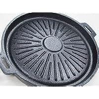 グリル鉄板18㎝直、直日で焼肉可能、グリル鉄板、備長炭500Gおまけ