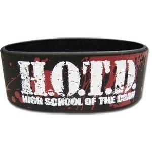 High School of the Dead Logo PVC Wristband フィギュア おもちゃ 人形 (並行輸入)