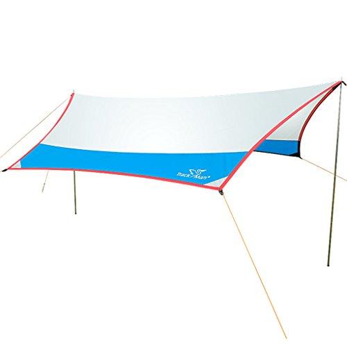 タープ テント キャノピーテントアウトドアシンプルな大きなレ...