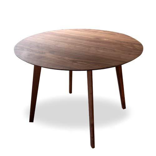 IKIKAGU ウォールナット無垢丸テーブル