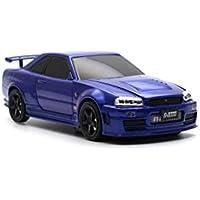 【先行予約】車型モバイルバッテリー 日産GT-R R34 NISMO Z Tune 4500mAh ブルー