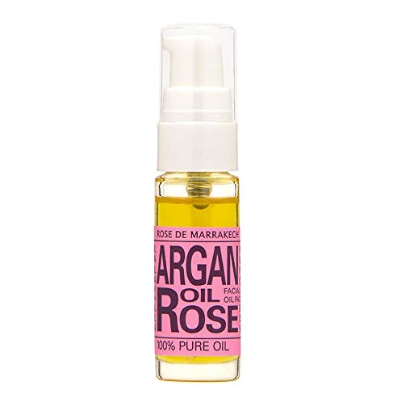 バーチャルきしむ縞模様のローズ ド マラケシュ(ROSE DE MARRAKECH) ローズ ド マラケシュ アルガンオイル ローズ10mL(アルガンオイル99% 配合フェイシャルオイル) 美容液