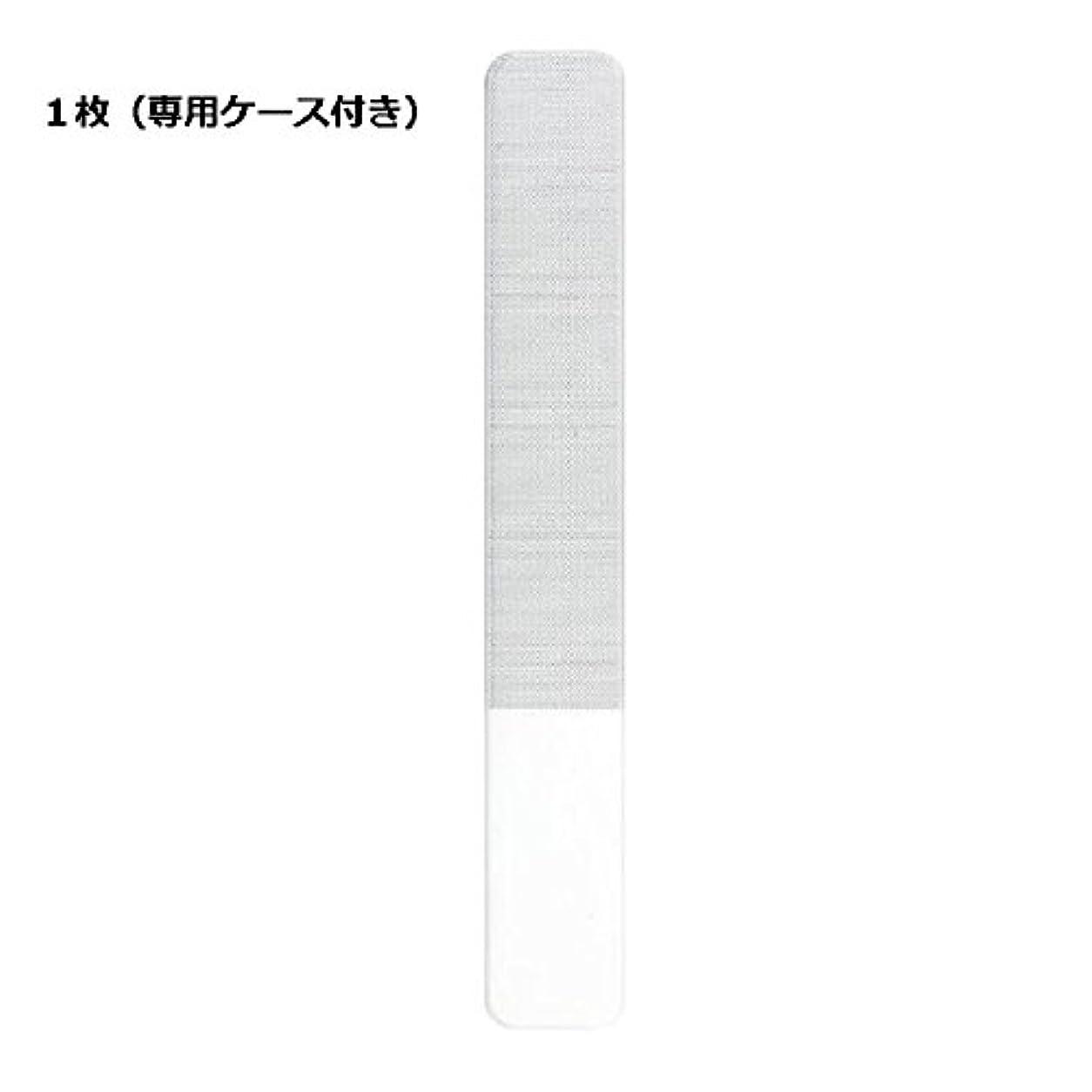 Irisomi 爪やすり 爪磨き ガラス爪ヤスリ ネイルファイル ネイルシャイナー つめケア ガラス製 ビューティー ネイルケア 甘皮処理 使いやすい (1個)