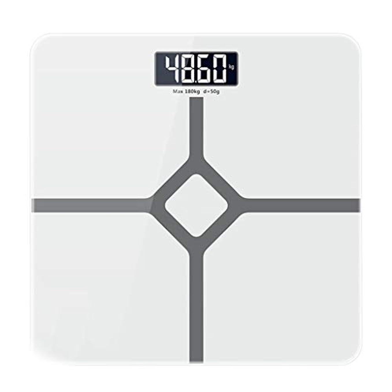 静脈ダウン暴露する体重計 高精度電子スケールデジタルノンスリップバスルームスケール大人が重量スケールを失うバックライトディスプレイ180kg容量頑丈な強化ガラスプラットフォーム