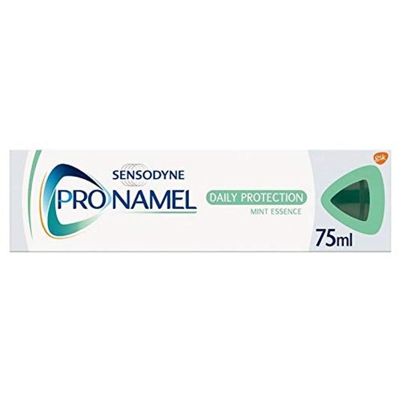 とても脚本連隊[Sensodyne] SensodyneのPronamel毎日保護エナメルケア歯磨き粉75ミリリットル - Sensodyne Pronamel Daily Protection Enamel Care Toothpaste...