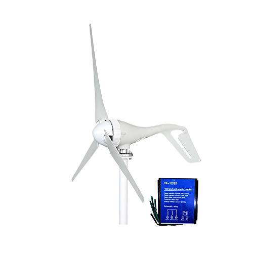 SAYA 小型風力発電機 400W 3ブレード12V/24Vコントローラ付き 風力発電機(12V)キット