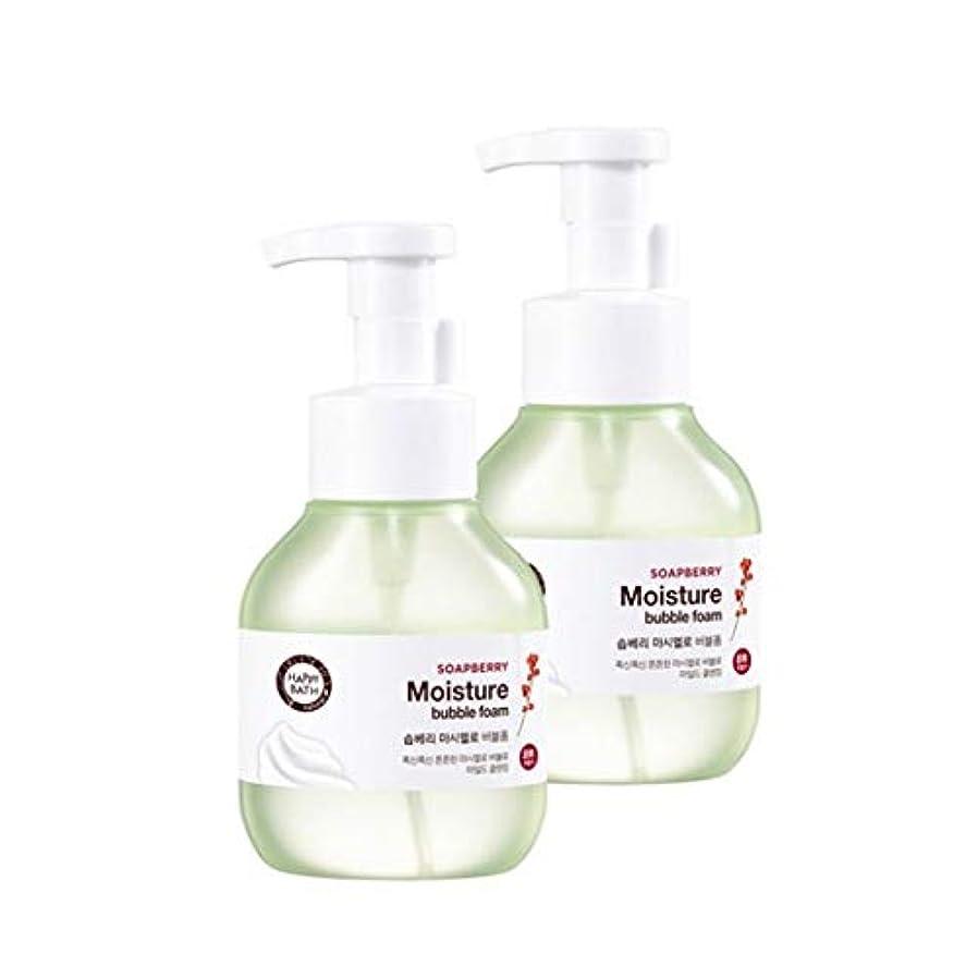 豊富にライム虚弱ハッピーバスソープベリーマシュマロバブルフォーム300mlx2本セット韓国コスメ、Happy Bath Soapberry Moisture Bubble Foam 300ml x 2ea Set Korean Cosmetics...