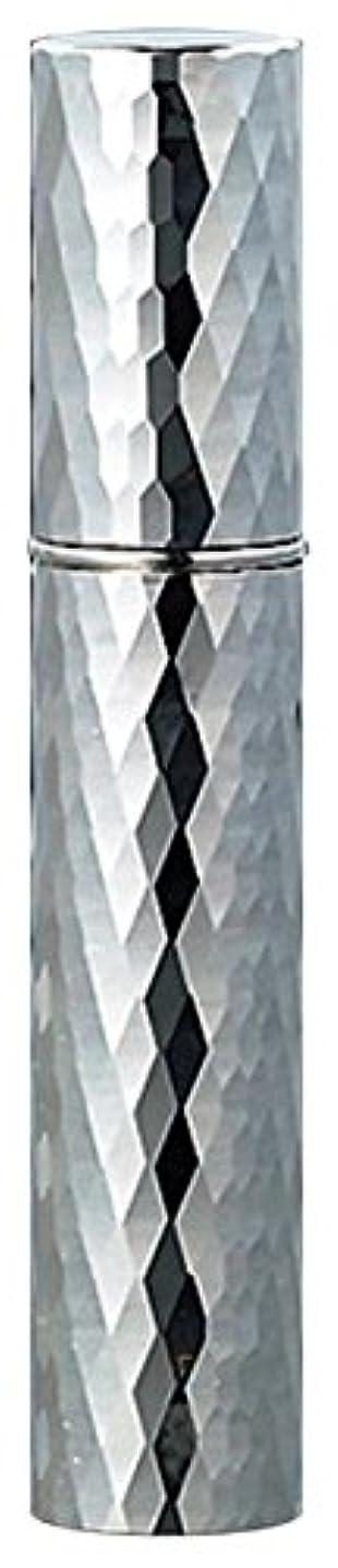 土器絡み合い砦22102 メタルアトマイザーダイヤカット シルバー