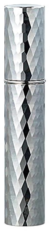 盟主息苦しい祖母22102 メタルアトマイザーダイヤカット シルバー