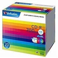 (業務用10セット) 三菱化学メディア CD-R <700MB> SR80SP20V1 20枚 ds-1747232