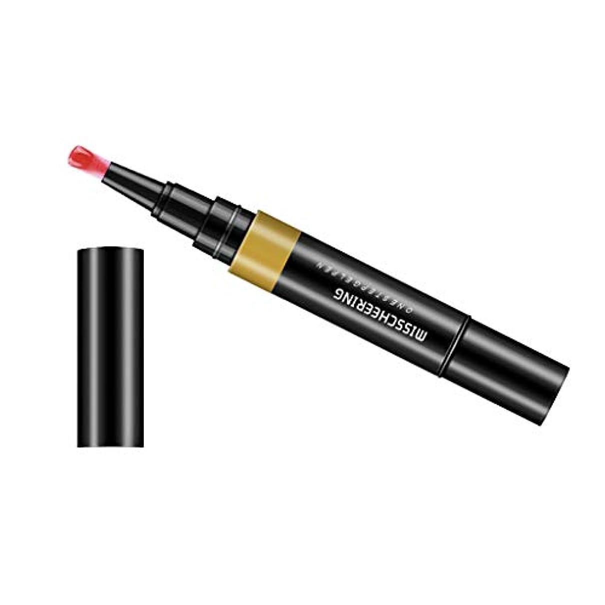 特許予算ホーンToygogo ジェル マニキュアペン ワニスラッカー ネイルアートペン 3 イン 1 サロン 初心者 セルフネイル DIY - ワインレッド