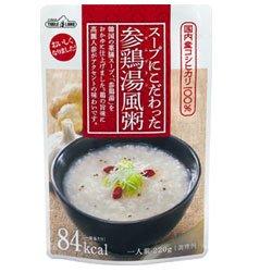 丸善食品工業 テーブルランド スープにこだわった 参鶏湯風粥 220gパウチ×20(10×2)袋入