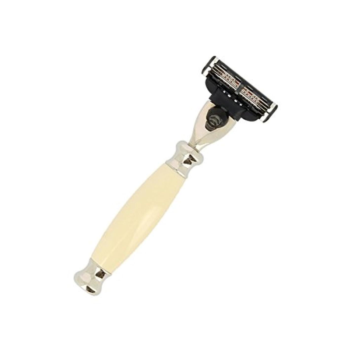 小麦私のバンVulfix Edwardian Mach 3アイボリー剃刀[海外直送品] [並行輸入品]
