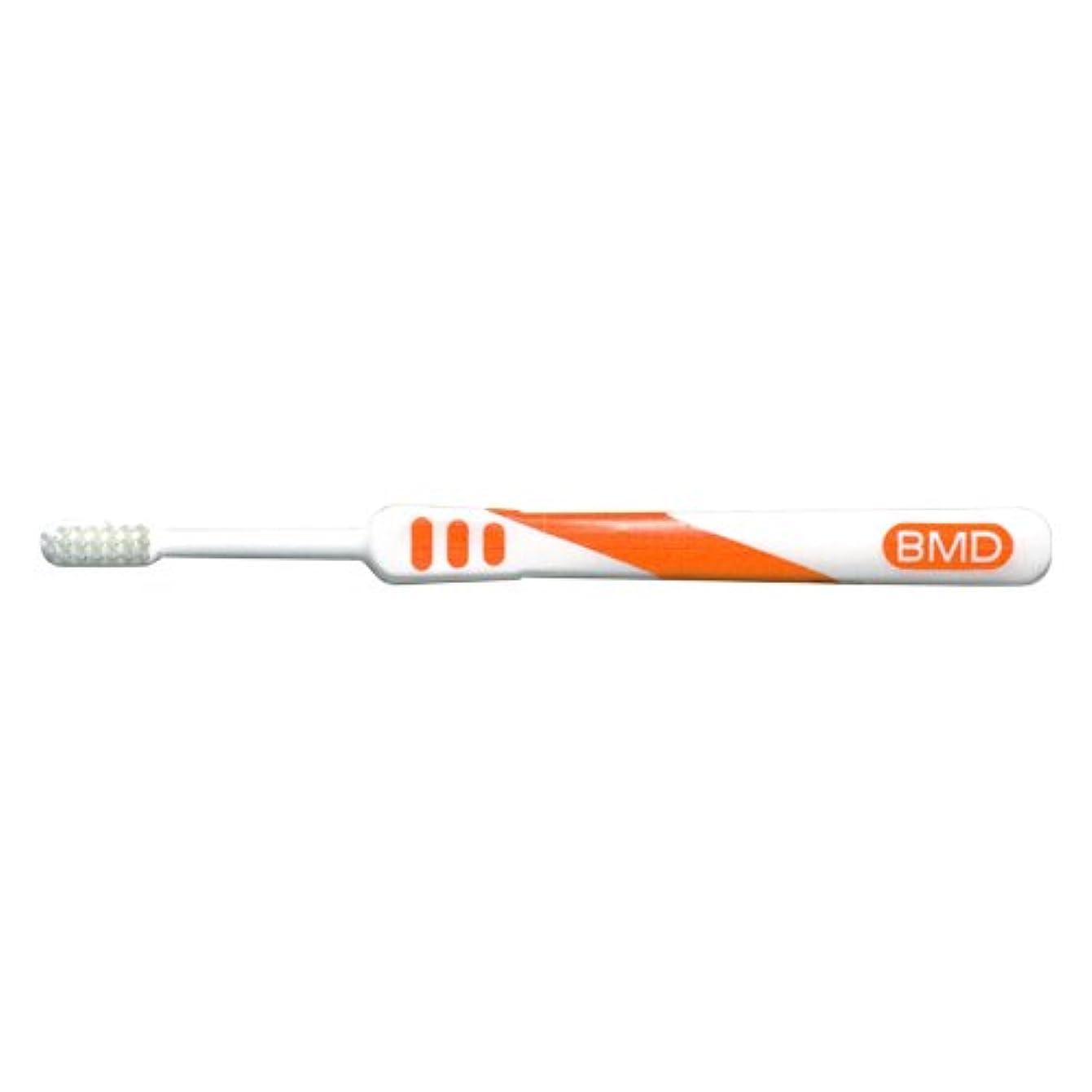 ラグ作成するくびれたビーブランド ビークイーン歯ブラシ 1本 105 タイブオレンジ