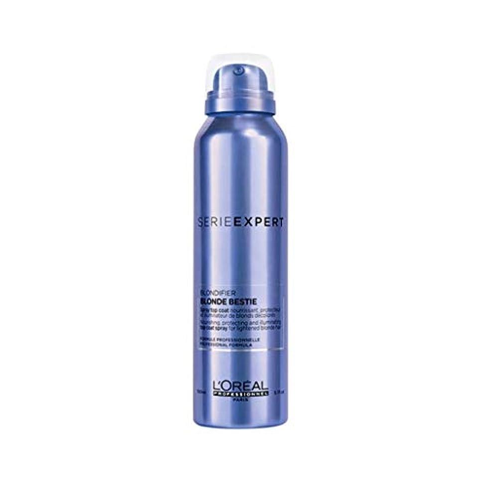 ミットトランスミッションペフロレアル セリエ エクスパート ブロンディファイア ブロンド ベスティー スプレー L'Oreal Serie Expert Blondifier Blond Bestie Spray 150 ml [並行輸入品]