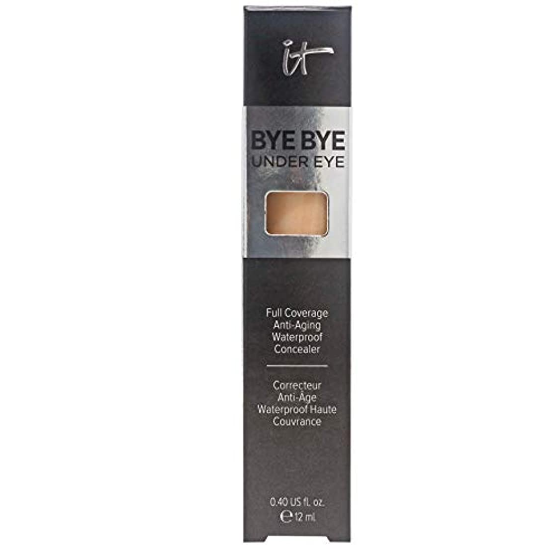 ボーダージョージスティーブンソン死の顎IT COSMETICS Bye Bye Under Eye Full Coverage Anti-Aging Waterproof Concealer (21.0 Medium Tan)