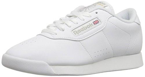ReebokレディースPrincessスニーカー ホワイト...