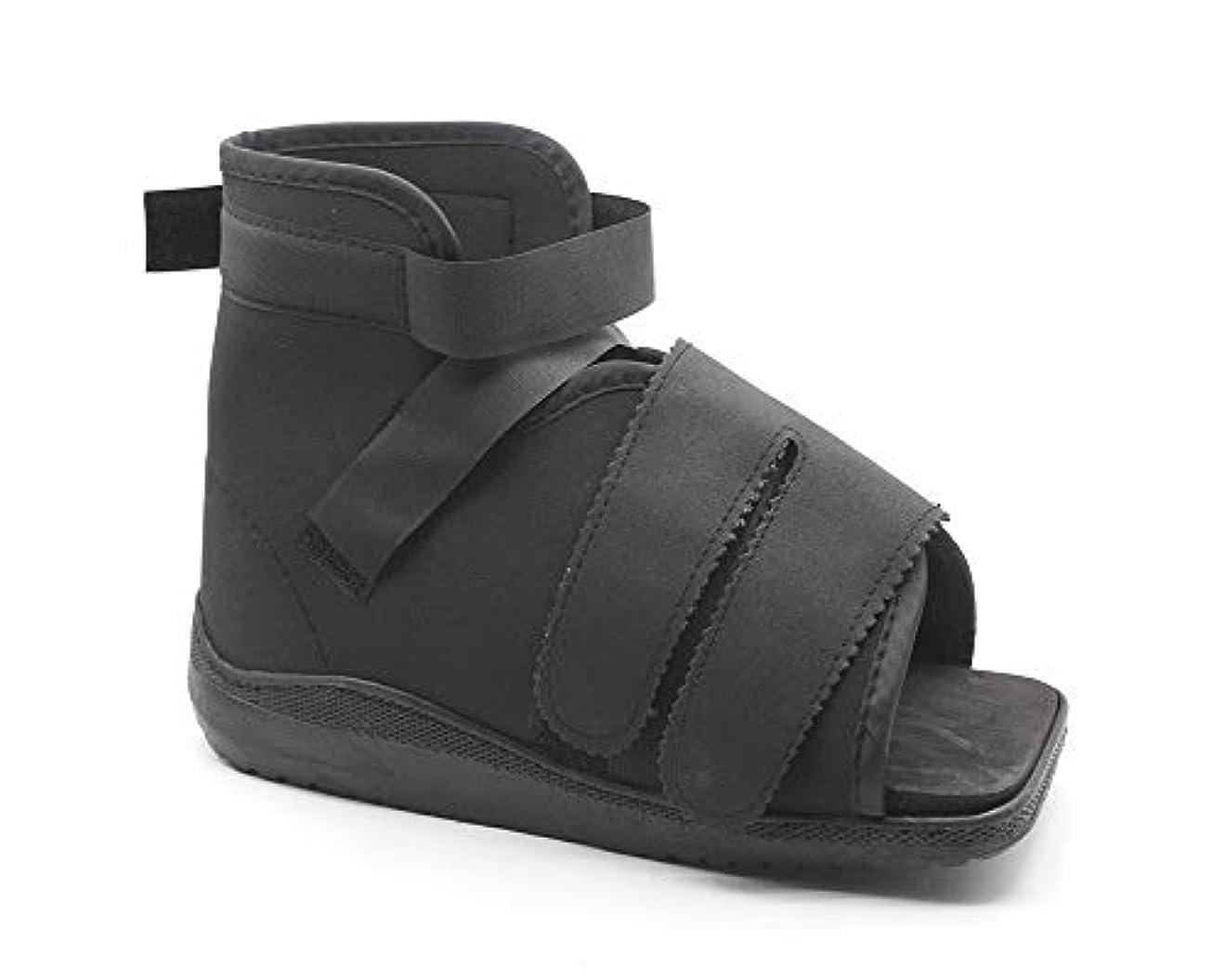 敬礼コール必須手術後のキャストブーツ-足の骨折と足底筋膜炎のための医療用ウォーキングスクエアトゥシューズ-男性と女性のための怪我後の外科的足型