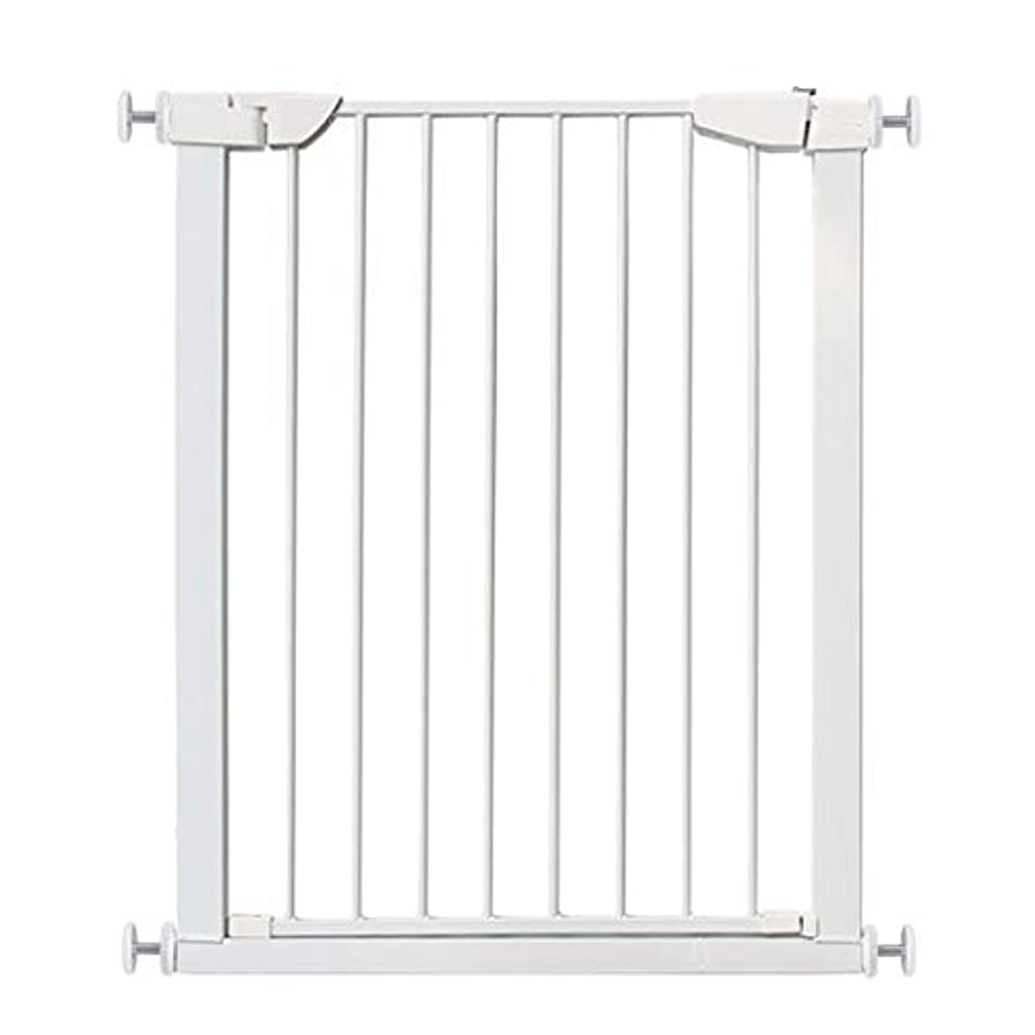 指令終了しました女の子ベビーゲート 子供の安全扉バー階段バリア赤ちゃん隔離ドアペットフェンス (Color : White, Size : 145-152cm)