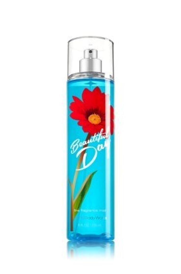 木製トロピカルつぶす【Bath&Body Works/バス&ボディワークス】 ファインフレグランスミスト ビューティフルデイ Fine Fragrance Mist Beautiful Day 8oz (236ml) [並行輸入品]