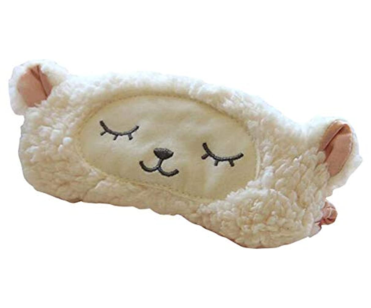 肌寒い魅力的であることへのアピールケントかわいい動物漫画羊睡眠アイマスクソフトアイカバー目隠しマスク