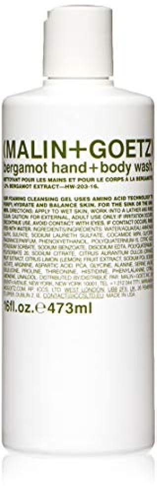 ホーン蒸発はっきりしないマリン アンド ゴッツ Bergamot Hand+Body Wash 473ml/16oz並行輸入品