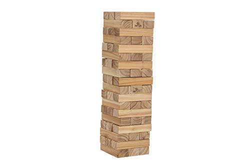 54 Piece Jumbo Jenjo Outdoor Giant Jenjo Wooden Block Game 81cm