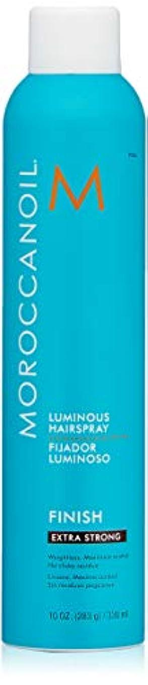 ホバート未接続反発MOROCCANOIL Moroccanoilルミナスヘアスプレーエクストラストロング、10フロリダ。オズ 10液量オンス