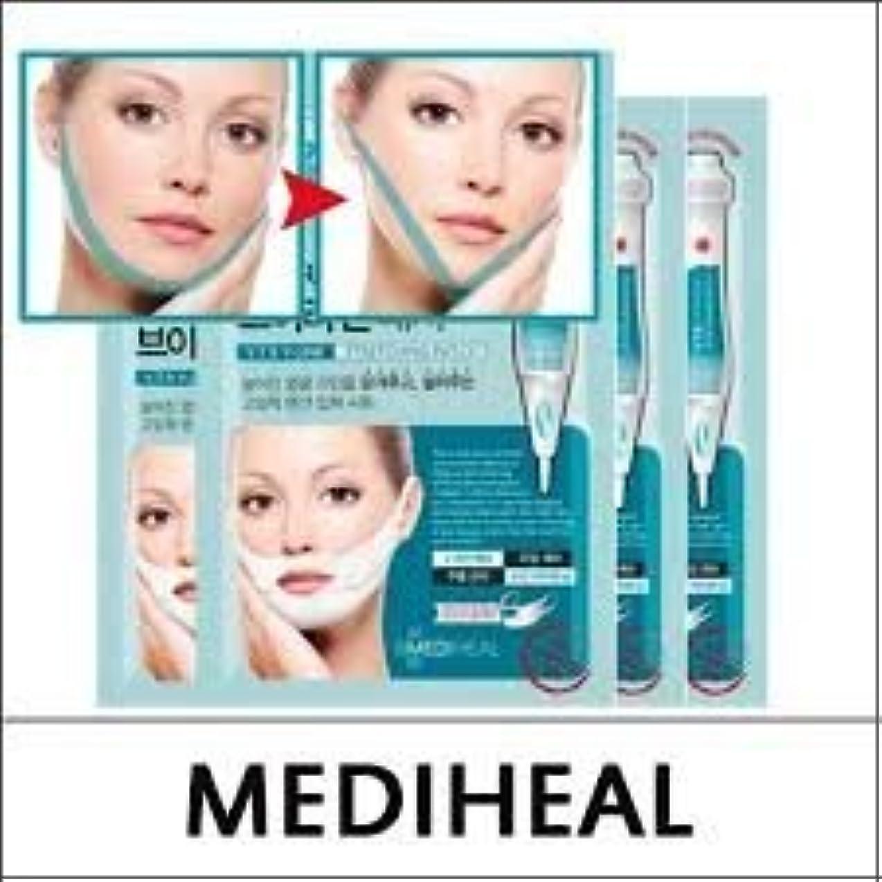 自動ゴミ節約するMEDIHEAL VTR V Stretching Patch 20mlX4pcs/A.R.P Neck Patch/100% Authentic Korea Cosmetic (VTR V-Line Stretching...