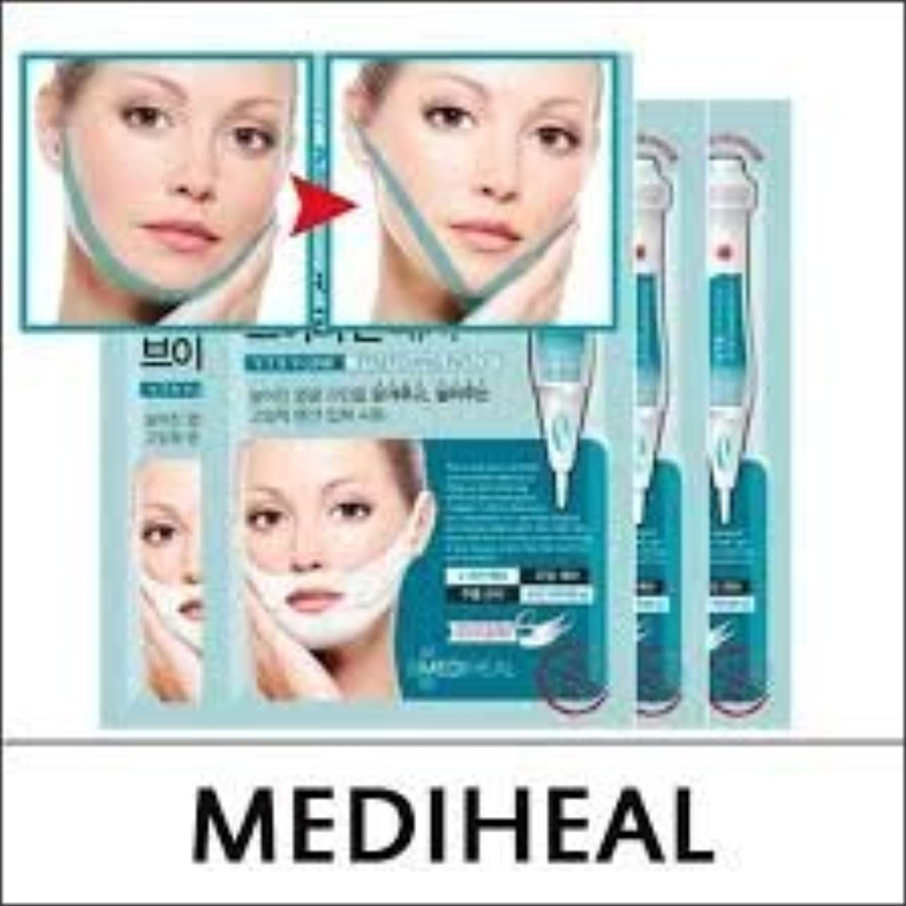 大統領運命民兵MEDIHEAL VTR V Stretching Patch 20mlX4pcs/A.R.P Neck Patch/100% Authentic Korea Cosmetic (VTR V-Line Stretching...