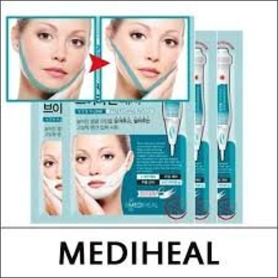 硬さ肥料若いMEDIHEAL VTR V Stretching Patch 20mlX4pcs/A.R.P Neck Patch/100% Authentic Korea Cosmetic (VTR V-Line Stretching...